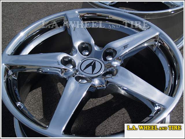 "Acura RSX OEM 17"" Set of 4 Chrome Wheels"