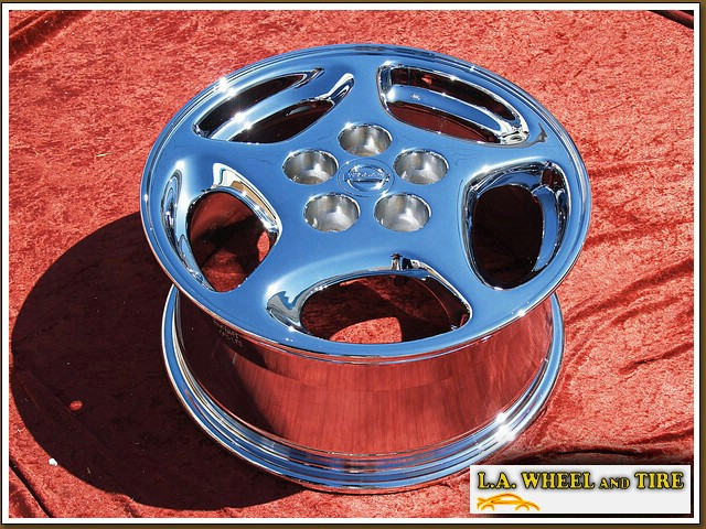 "Nissan 300ZX OEM 16"" Set of 4 Chrome Wheels"