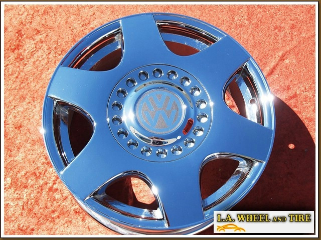"Volkswagen Beetle Monte Carlo OEM 16"" Set of 4 Chrome Wheels 69724"