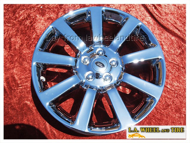 "Range Rover Supercharged OEM 20"" Set of 4 Chrome Wheels"