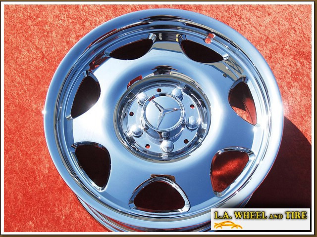 "Mercedes-Benz CLK320 Forged OEM 16"" Set of 4 Chrome Wheels"