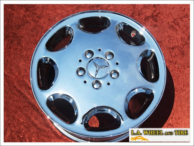 "Mercedes-Benz E / SL-class OEM 16"" Set of 4 Chrome Wheels"