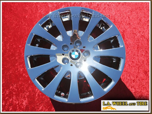 "BMW 6-series Style 118 OEM 18"" Set of 4 Chrome Wheels"