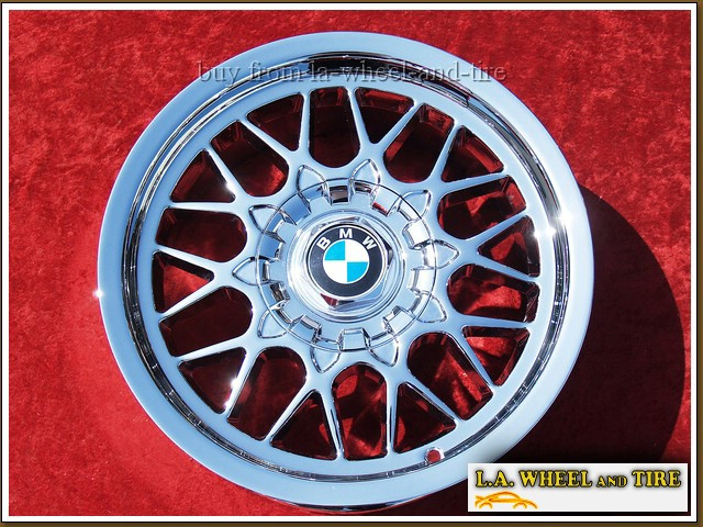 "BMW 5-series Style 29 OEM 16"" Set of 4 Chrome Wheels"