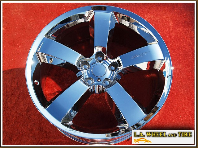 "Dodge Charger SRT8 Forged OEM 20"" Set of 4 Chrome Wheels"