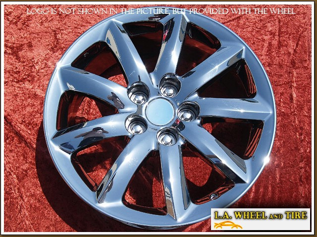 "Lexus LS-series OEM 18"" Set of 4 Chrome Wheels"