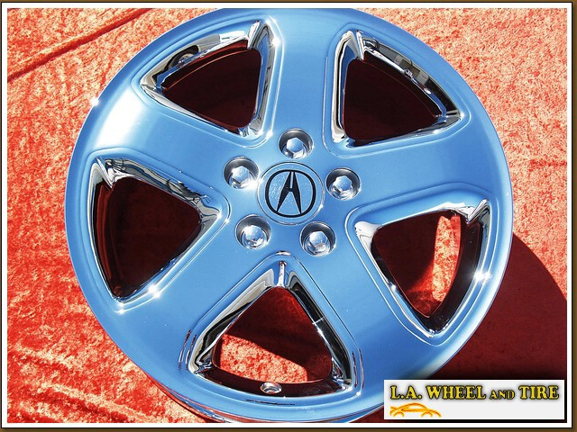 LA Wheel Chrome OEM Wheel Experts Acura TL TypeS Honda Accord - Acura tl type s wheels for sale