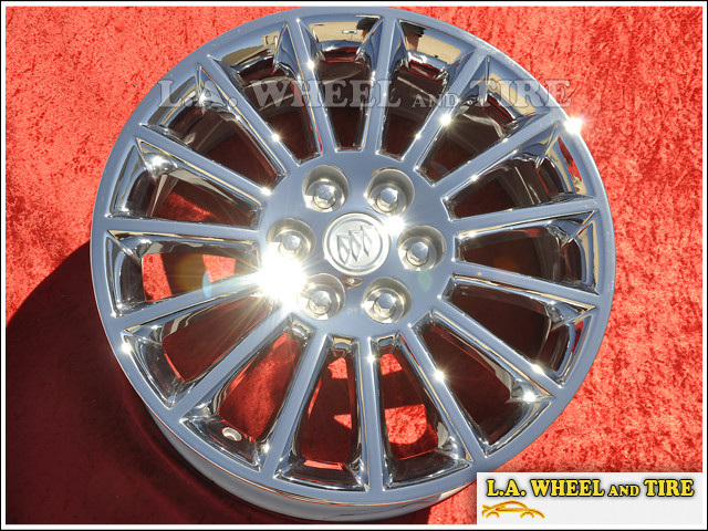 "Buick Enclave OEM 19"" Set of 4 Chrome Wheels"
