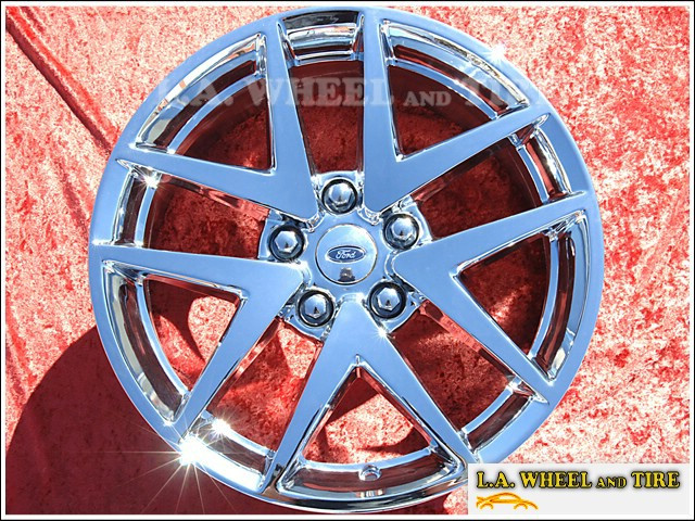 "Ford Fusion OEM 17"" Set of 4 Chrome Wheels"