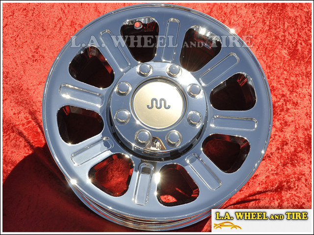 """Ford F-250 / F-350 Super Duty King Ranch Edition Forged OEM 18"""" Set of 4 Chrome Wheels"""