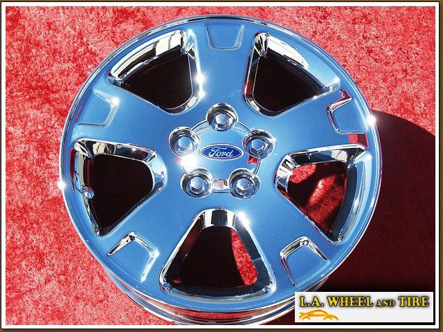 "Ford Freestyle OEM 17"" Set of 4 Chrome Wheels"