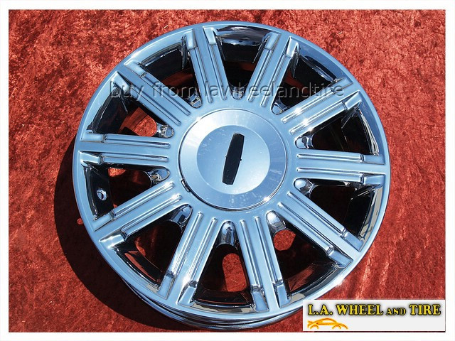L A Wheel Chrome Oem Wheel Experts Lincoln Town Car