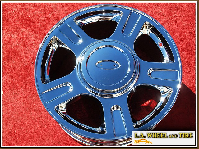 "Ford Expedition OEM 17"" Set of 4 Chrome Wheels"