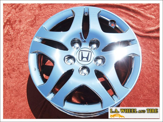 "Honda Odyssey OEM 16"" Set of 4 Chrome Wheels"