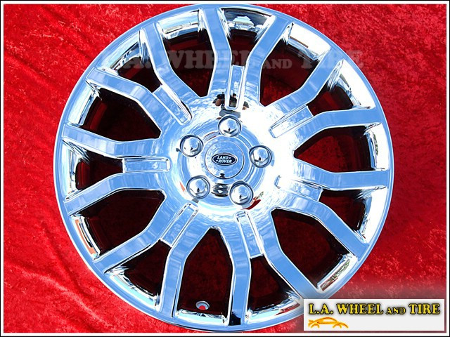 """Range Rover Supercharged Autobiography Edition OEM 20"""" Set of 4 Chrome Wheels"""