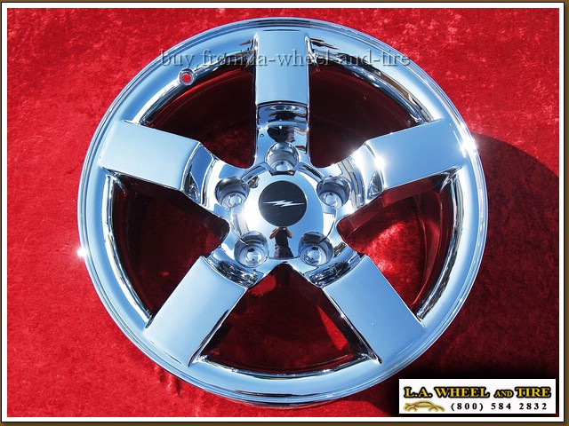 "Ford F-150 Lightning OEM 18"" Set of 4 Chrome Wheels 3420"