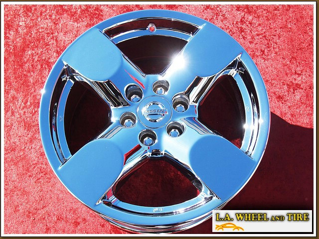 "Nissan Frontier / Xterra OEM 17"" Set of 4 Chrome Wheels"