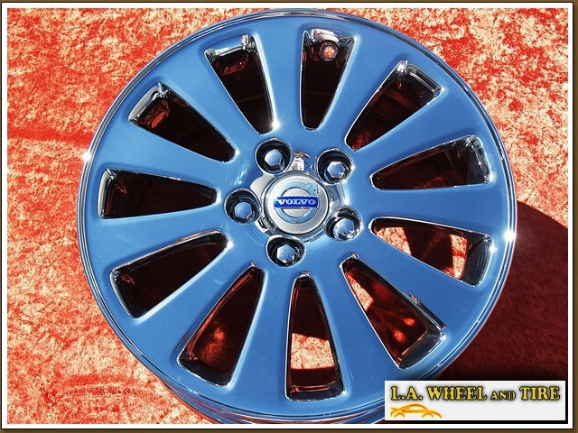 L A  Wheel   V50 Oem 16 U0026quot  Set Of 4 Chrome Wheels 70290