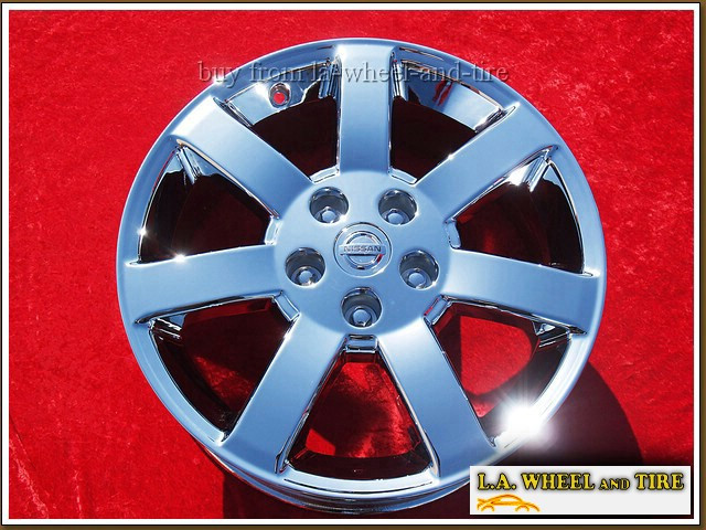 "Nissan Maxima OEM 17"" Set of 4 Chrome Wheels"