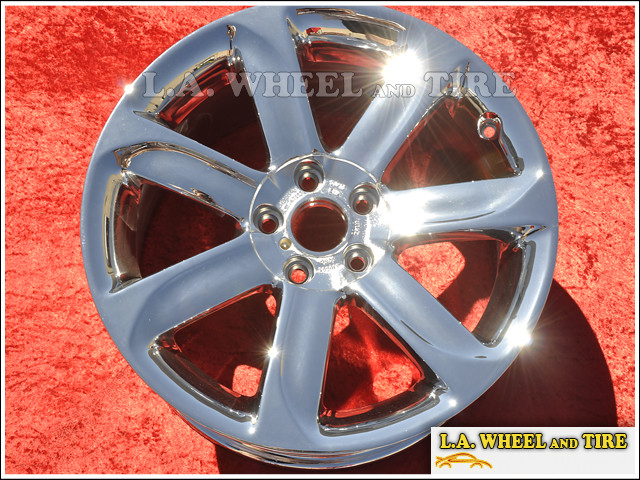 "Audi TT OEM 18"" Set of 4 Chrome Wheels"