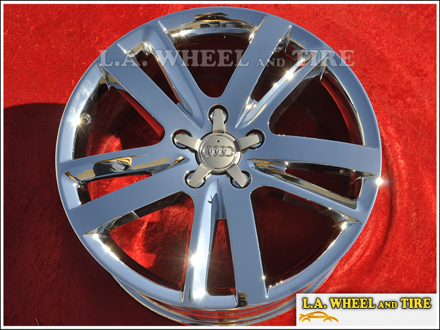 "Audi Q7 OEM 20"" Set of 4 Chrome Wheels"