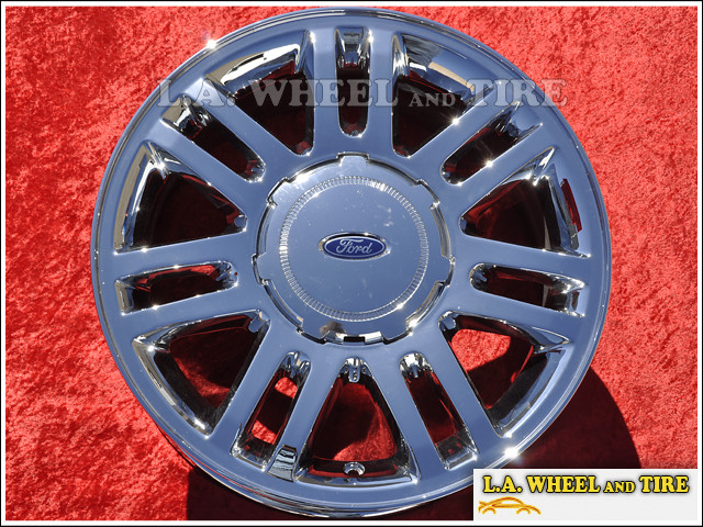 "Ford F-150 OEM 18"" Set of 4 Chrome Wheels"