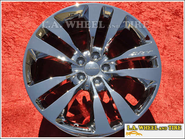 "Dodge Charger SRT-8 OEM 20"" Set of 4 Chrome Wheels"