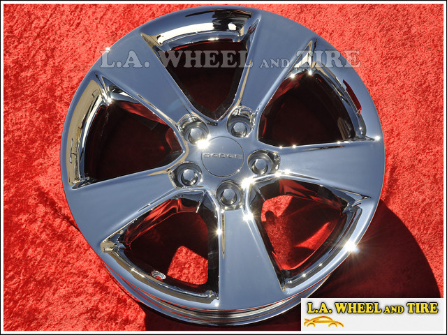 "Dodge Charger RWD OEM 17"" Set of 4 Chrome Wheels"