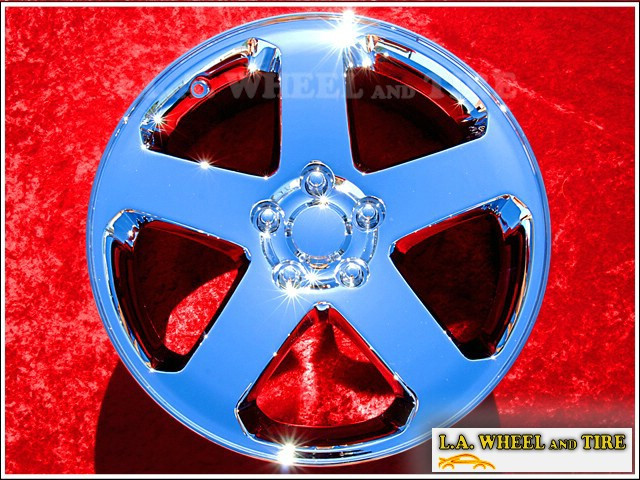 "Dodge Charger / Magnum AWD OEM 18"" Set of 4 Chrome Wheels"