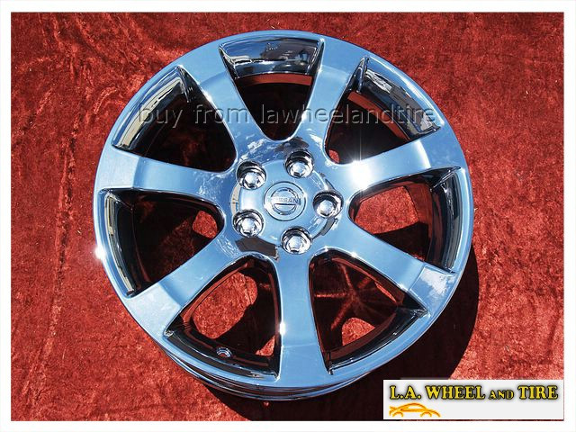 "Nissan Maxima OEM 18"" Set of 4 Chrome Wheels"