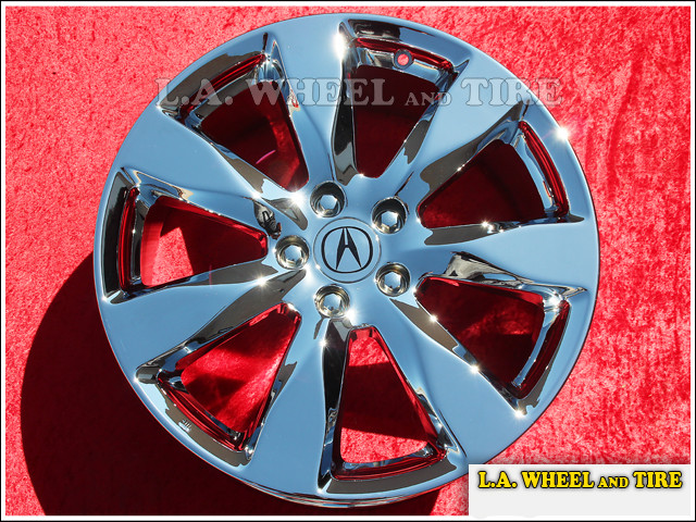 LA Wheel Chrome OEM Wheel Experts Acura MDX OEM Set Of - Acura mdx oem wheels