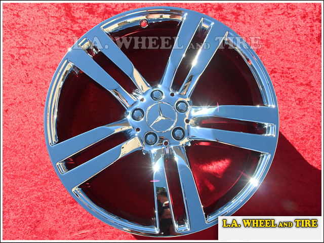 "Mercedes-Benz GLK250 / GLK350 OEM 20"" Set of 4 Chrome Wheels"