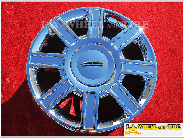 "Lincoln Town Car OEM 17"" Set of 4 Chrome Wheels 3754"