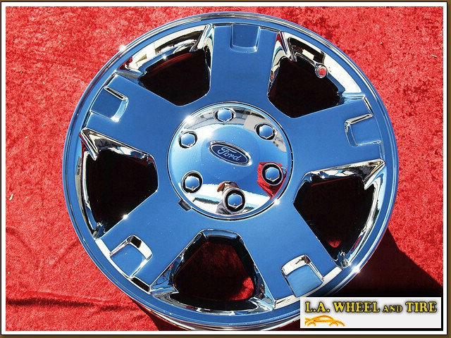 "Ford F-150 OEM 18"" Set of 4 Chrome Wheels 3560"