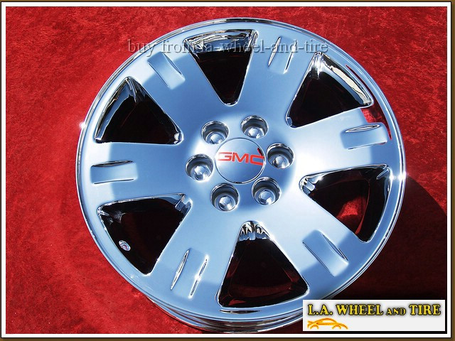 "GMC Sierra 1500 / Yukon OEM 20"" Set of 4 Chrome Wheels 5306"