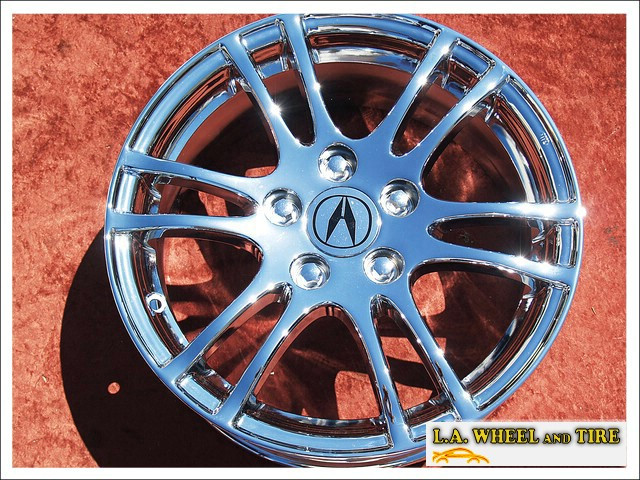"Acura RSX OEM 16"" Set of 4 Chrome Wheels 71740"