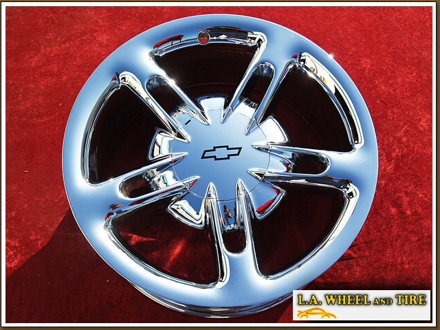 "Chevrolet SSR OEM 19"" Set of 4 Chrome Wheels 5166"