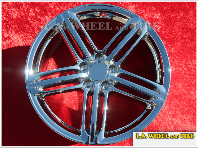 "Audi A4 / S4 OEM 19"" Set of 4 Chrome Wheels"