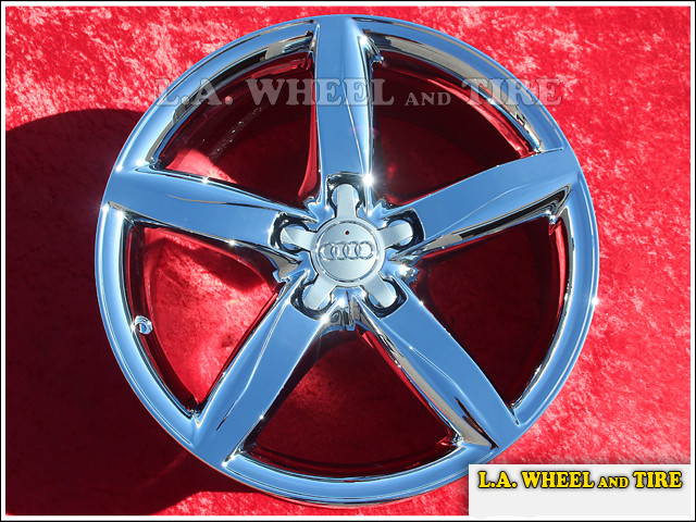 "Audi A4 OEM 18"" Set of 4 Chrome Wheels"