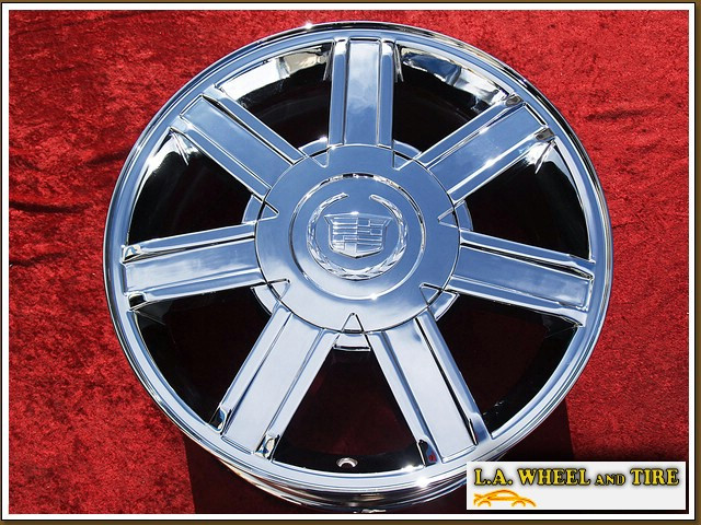 "Cadillac Escalade OEM 18"" Set of 4 Chrome Wheels"