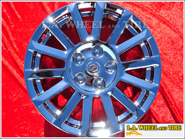 "Cadillac CTS OEM 17"" Set of 4 Chrome Wheels"