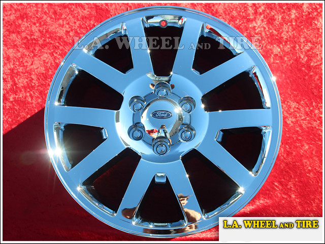 "Ford Expedition / F-150 OEM 20"" Set of 4 Chrome Wheels"