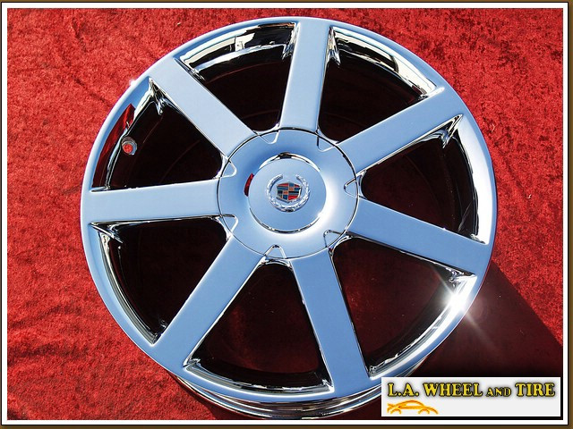"Cadillac XLR OEM 18"" Set of 4 Chrome Wheels"