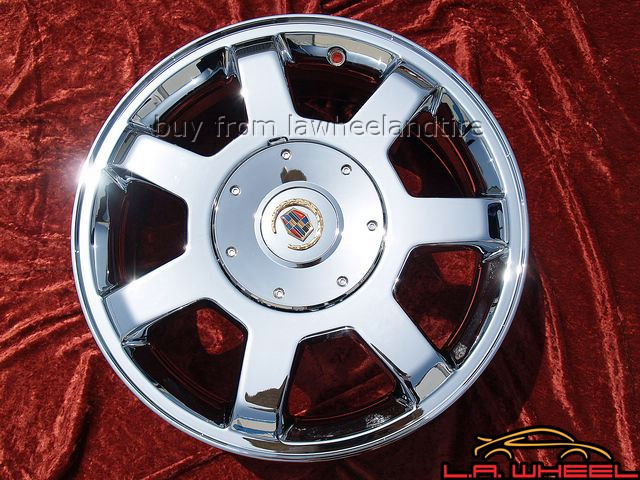 "Cadillac CTS OEM 16"" Set of 4 Chrome Wheels"