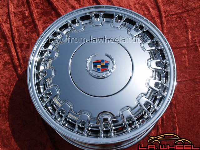 "Cadillac Deville / Seville OEM 16"" Set of 4 Chrome Wheels"