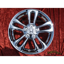 "Honda Civic Si OEM 17"" Set of 4 Chrome Wheels"