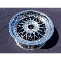 "Single 17"" NEW BMW BBS 525/528/530 OEM CHROME WHEEL 59255"