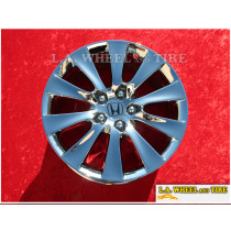 "Honda Accord OEM 18"" Set of 4 Chrome Wheels 63937"