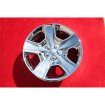 "Dodge Challenger 20"" OEM Set of 4 Chrome Wheels 2440"