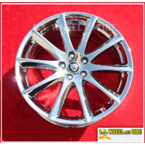 "Jaguar XJ Aleutian OEM 19"" Set of 4 Chrome Wheels 59869 Exchange"